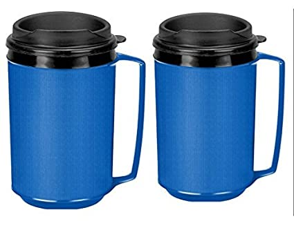12 Insulated The Thermo Classic Servblue Coffee Oz By Like Aladdin Two Mugs WE2I9DH