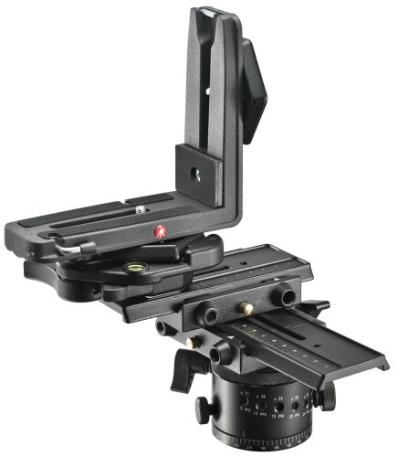 Manfrotto MH057A5 5.79-Inch Virtual Reality and Pan Head (Black)