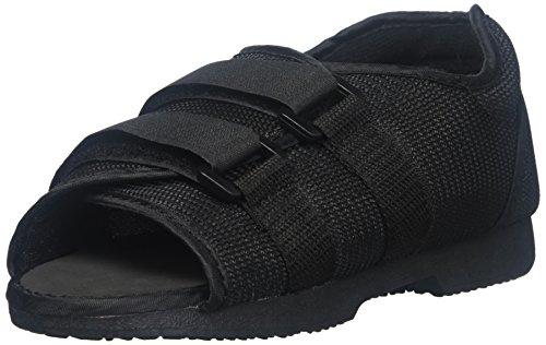 Shoe Post-Op Classic Women Black, Shoe Size - 6.5-8 - Medium ()