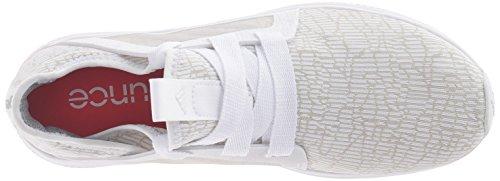 Adidas Performance Women's Edge Lux W Running Shoe, White-Crystal White-Shock Red, 8.5 M US