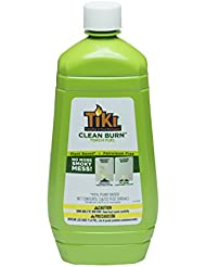 Tiki Brand Clean Burn Torch Fuel, No More Smoky Mess, 32 Ounce Bottle