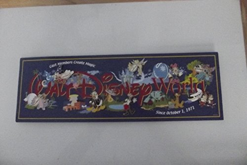 WDW Cast Exclusive, Cast Pin Party 2006, .Cast Members Create Magic complete set with background, Limited Edition Pin Set
