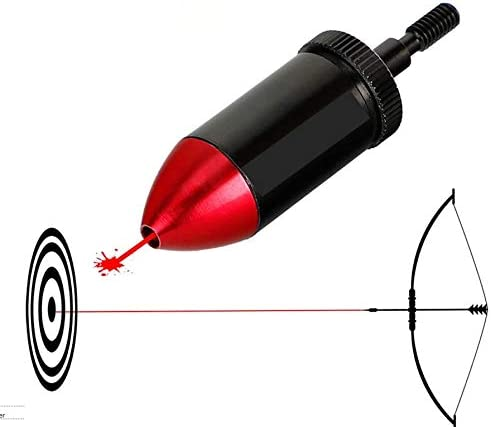 Archery Red Dot Laser Bore Sight Scope For Compound Recurve Bow Crossbow Tool