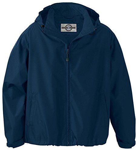 Ash City - North End North End Men's Zipper Techno Lite Jacket, MIDN Navy 711, - Performance North Techno End