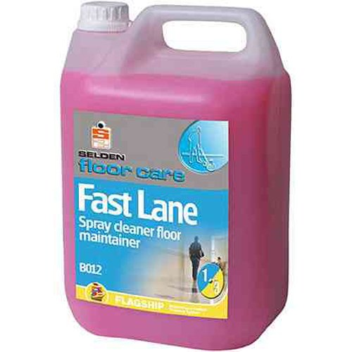 Selden B012 Fast Lane Spray Cleaner Floor Maintainer, 5 L