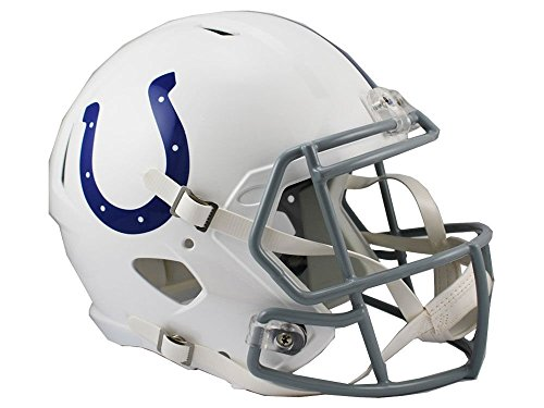 Riddell NFL Indianapolis Colts Full Size Replica Speed Helmet, Medium, Blue