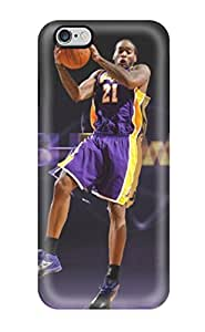 New Snap-on DanRobertse Skin Case Cover Compatible With Iphone 6 Plus- Los Angeles Lakers Nba Basketball (66)