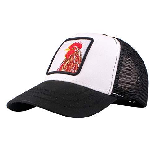 YEZIJIN Women Embroidered Flower Denim Cap Fashion Baseball Cap Topee