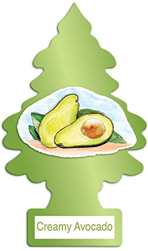 Lightweight Creamy (Little Trees Creamy Avocado Air Freshener, (Pack of 24))