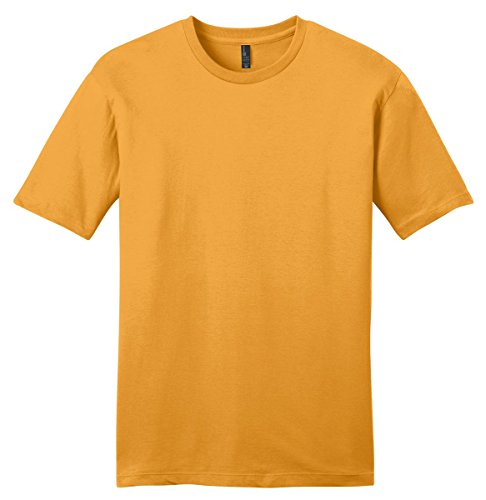 (District 174 - Young Mens Very Important Tee 174 . DT6000 Large Gold )