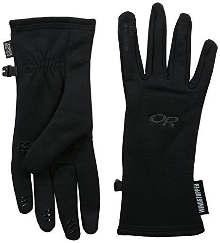Outdoor Research Women's Backstop Sensor Gloves, Black, Small