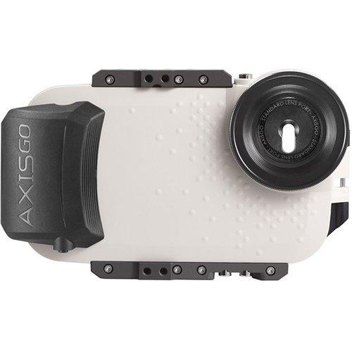 AxisGO スポーツ ウォーターハウジング - iPhone 7 Plus / 8 Plusに適合 - 水中写真とビデオ用 - Seashell White [並行輸入品]   B077JPDP2Z