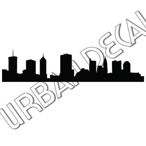 Amazon Com Urbandecal Columbus Skyline Vinyl Decal For Car Window