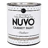 warm grey paint color Nuvo Hearthstone Cabinet Paint Quart