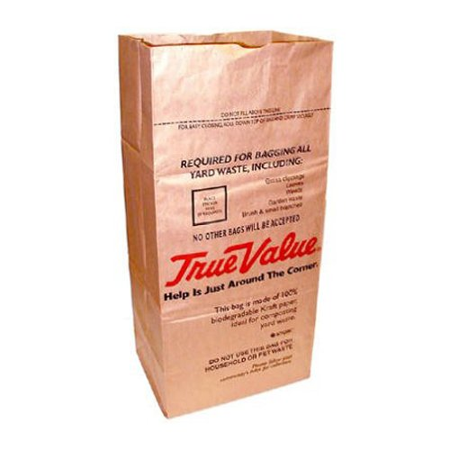 Ampac SOS-30T True Value 30 Gallon Paper Lawn and Leaf Bag, 5 Count by Ampac