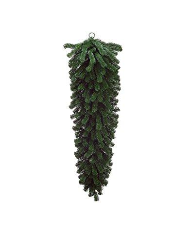 Northlight Seasonal Unlit Deluxe Windsor Pine Artificial Christmas Teardrop Swag, 54'' by Northlight Seasonal