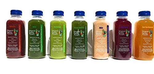 Organic Green Foods 3 Day Raw Purify Juice Cleanse by Organic Green Foods