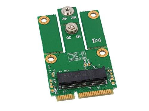 M.2 (NGFF) Card to Mini PCI-E Adapter Support M.2 Socket SSIC-based WWAN Module SZZJ