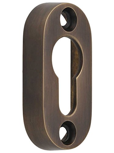 Solid Brass Transom Window (Solid-Brass Transom Pole Hanger in Antique-By-Hand.)