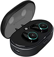 MYCARBON Auriculares Inalambricos 5.0 Teclas Táctiles Cascos Inalambricos Reducción de Ruido Auriculares Bluetooth IPX5 Estéreos con Micrófono para iPhone Android Windows con Caja de Carga