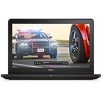 Dell Inspiron 7000 Backlit Keyboard 15.6 inch Full HD Gaming Laptop PC, Intel Core i7-6700HQ Quad-Core, NVIDIA GeForce GTX 960M, 8GB RAM, 128GB SSD (boot) + 1TB HDD, Windows 10 Home, Black