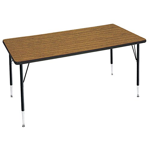 Adjustable Height Rectangular Activity Table - 30