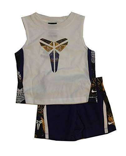 Nike Infant Boys 2 Piece Tank Top and Shorts Set Court Purple Size 12 Months