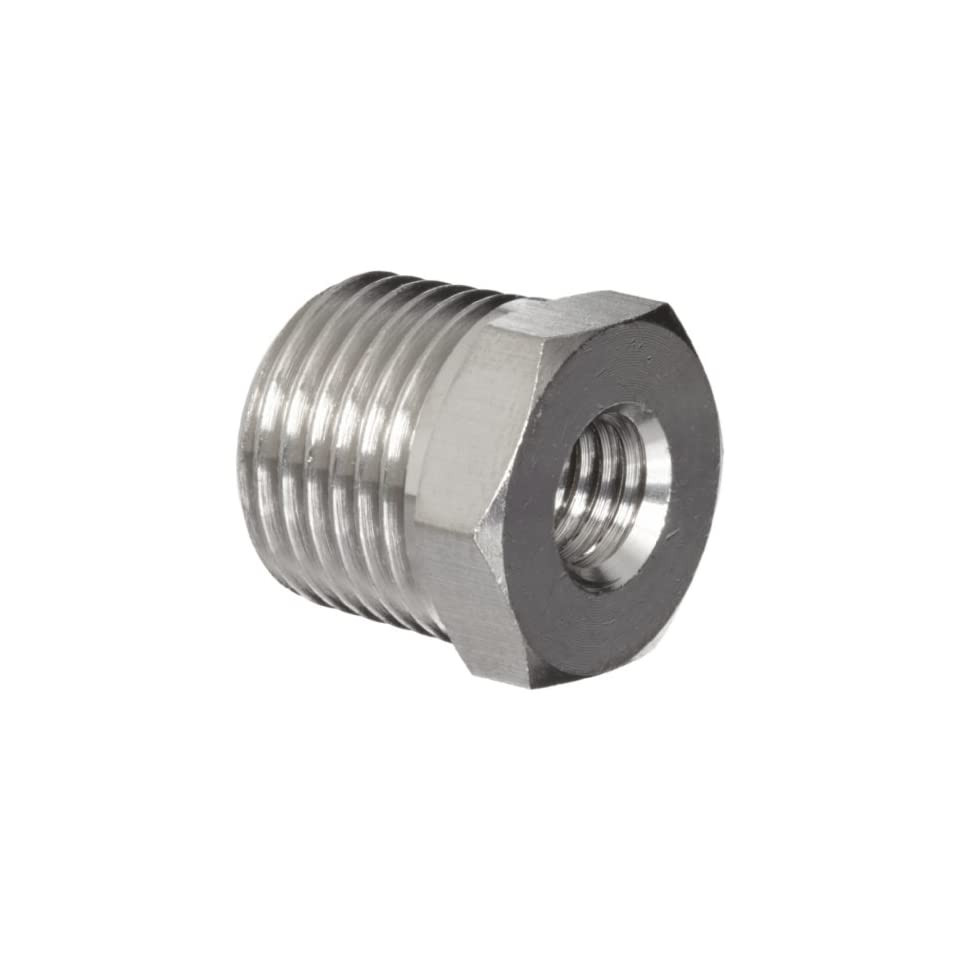 SMC M Series Brass Miniature Tube Fitting, Bushing, M5x0.8 Female