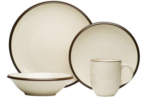 Red Vanilla Hampshire Cream 16-Piece Dinnerware Set ()