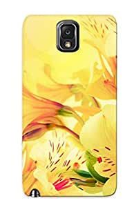 Wgexhm-4194-aygnppw Peruvian Lilies Awesome High Quality Galaxy Note 3 Case Skin/perfect Gift For Christmas Day