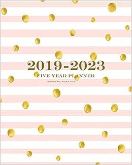Amazon.com: 2019-2023 Stripes and Polka Dots Five Year ...