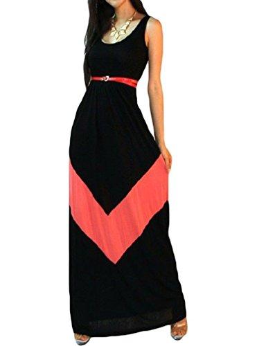 43 City Women's Casual Summer Elegant BoHO Maxi Floral Long Sundress Dress
