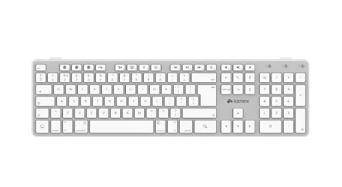 Kanex Multi-Sync Bluetooth Keyboard for IOS Mac, iPad and iPhone UK (United Kingdom) Layout...