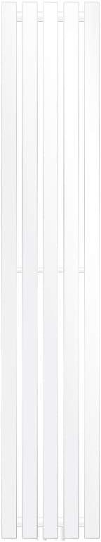 ECD Germany Stella Design Radiador de panel - 260 x 1400 mm - Blanco - Radiador toallero agua calefaccion - Calentador de baño - Calefaccion de pared - No eléctrico -