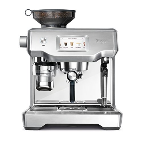Sage Oracle Touch Bean to Cup Fully Automatic Espresso machine, Silver, Silver, SES990