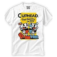 cuphead Playera Rott Wear
