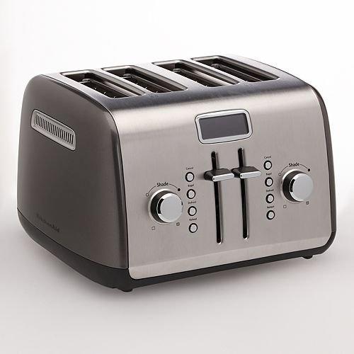 KitchenAid KMT422QG 4-Slice Toaster with Manual High-Lift...