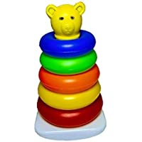 Digital Inc™ Stacking Multicolour 5 Tedy Rings for Toddlers