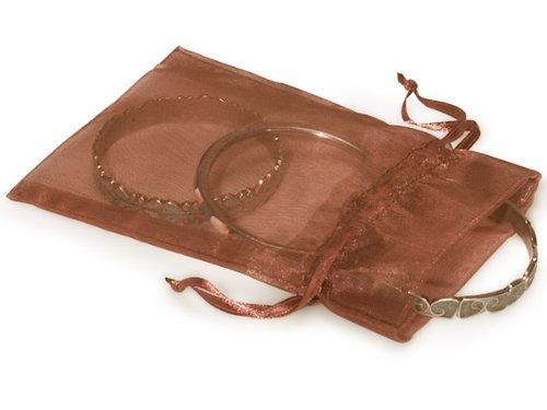 150 Copper Organza Gift Bags 5