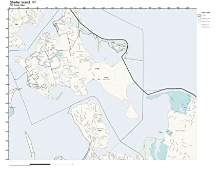 Amazon.com: ZIP Code Wall Map of Shelter Island, NY ZIP Code ... on rhode island waterways map, lincoln island map, st bonaventure map, whitestone map, blue point map, suffolk county map, fire island map, farmingdale map, east hampton map, asharoken map, brookhaven map, great river map, admiralty island map, sag harbor map, gardiners island map, islandia map, mission gorge map, longview lake shelter map, plum island new york map, rhode island sound map,
