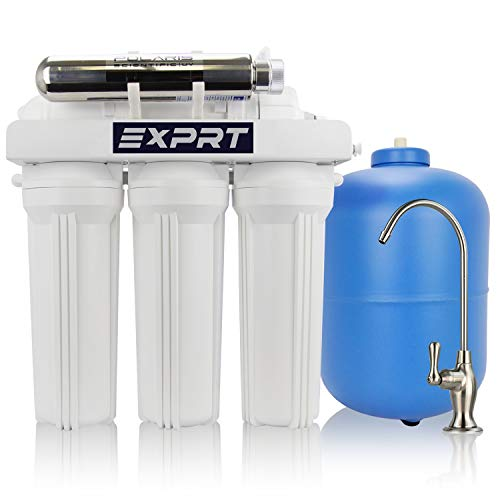 EXPRT APEX MR-6051 Drinking Water Filter System with Advanced Disinfectant UV Reactor