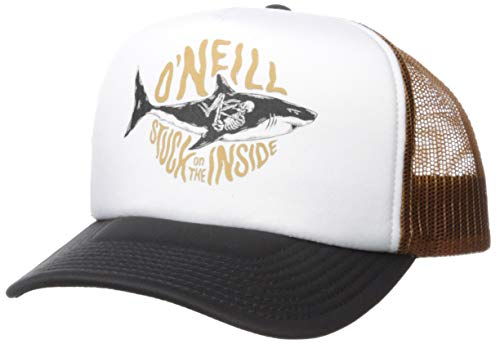 O'NEILL Men's Mesh Back Adjustable Trucker Hat, Bronze/Tackle Box, One ()