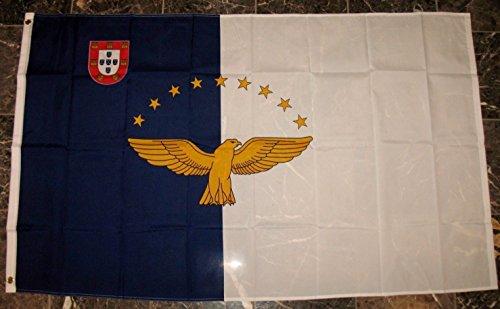 Azores Flag 3'x5' Region Banner ()