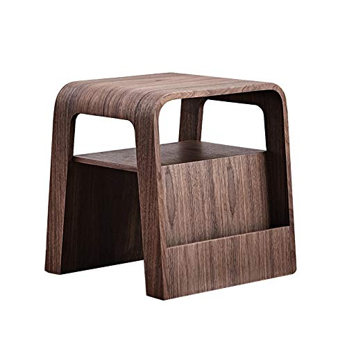 Tables ZR- Sofa Side Multifunction Storage Footstool Bedside 46 x 43.5 x 48 cm Furniture