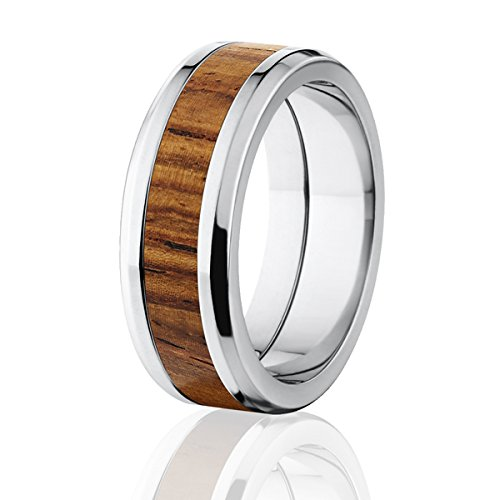 fit wedding wood rosewood w dp exotic new rings band comfort hard