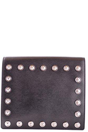 Pochette Versace Fbd1192fvsaf460n Cuir Femme Noir 5AL4Rjc3qS
