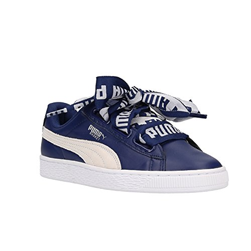 Mode Suede Bleu Safari Basket Femme Puma Heart 8In6dwIq