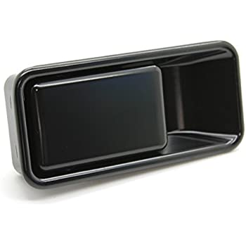 for Jeep Outside Outer Exterior Door Handle Half Door Only Left Right Black Pair