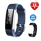 Letsfit Fitness Tracker HR, Activity Tracker Watch with Heart Rate Monitor, IP67 Water
