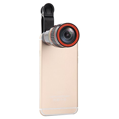 Phone Camera Lens Kit 12x Optical Zoom Universal Smartphone Telephoto Telescope Lens